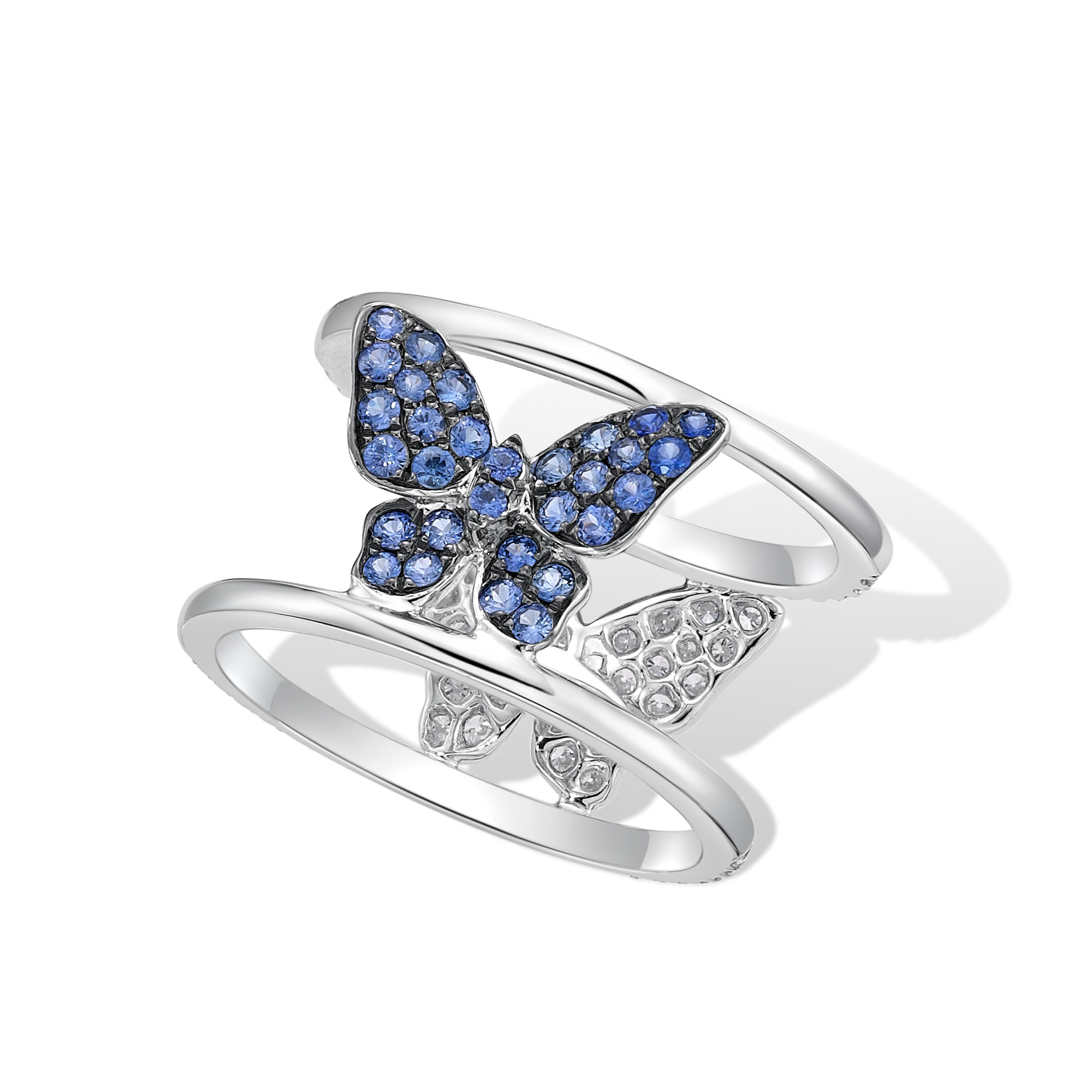 Indigo Butterfly Maiden Ring  Jessica Fong. Concordia University Rings. Warm Engagement Rings. Triangle Rings. Wooden Engagement Rings. Infinity Engagement Rings. Encased Wedding Rings. Roman Shades Rings. Natural Aquamarine Engagement Rings