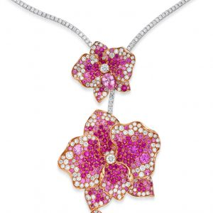 Pink-Orchid-Necklace